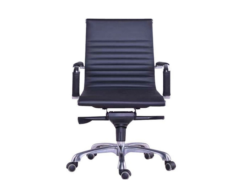 ICON SLING BLACK LEATHER CHAIR