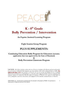 Bully Prevention / Intervention EAL Program