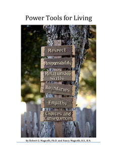 Power Tools for Living by Robert and Nancy Magnelli (5-Week EAL Group Program Teaching Emotional Constructs)