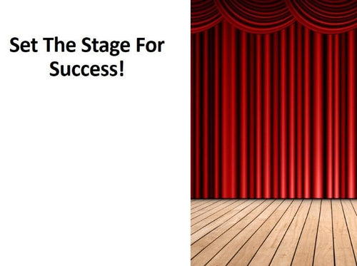 Set Your Stage For Success! Generating Revenue Through Action & Application