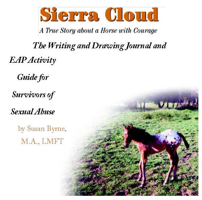 Susan Byrne - Sierra Cloud Writing & Drawing Journal and EAP Activity Guide