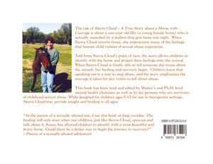 Susan Byrne Children's Book - Sierra Cloud: A True Story about a Horse with Courage