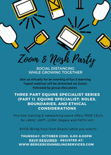 October 22, 2020 Southeast Florida Eagala Zoom Networking Group