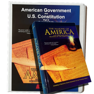 American Government & US Constitution (Part 2) - National Center for Constitutional Studies