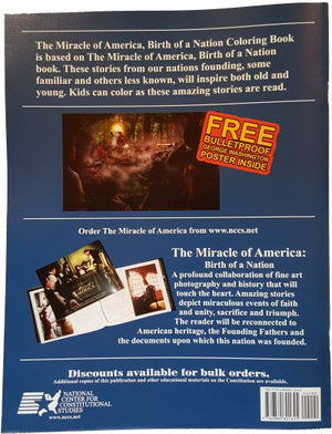 The Miracle of America, Birth of a Nation (Coloring Book) - National Center for Constitutional Studies
