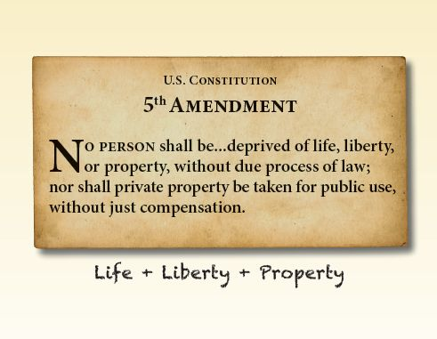 Liberty Card - Life, Liberty, Property (Bundle of 100)