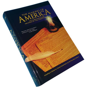 The Making of America, a hardbound reference book to the meaning of the US Constitution.