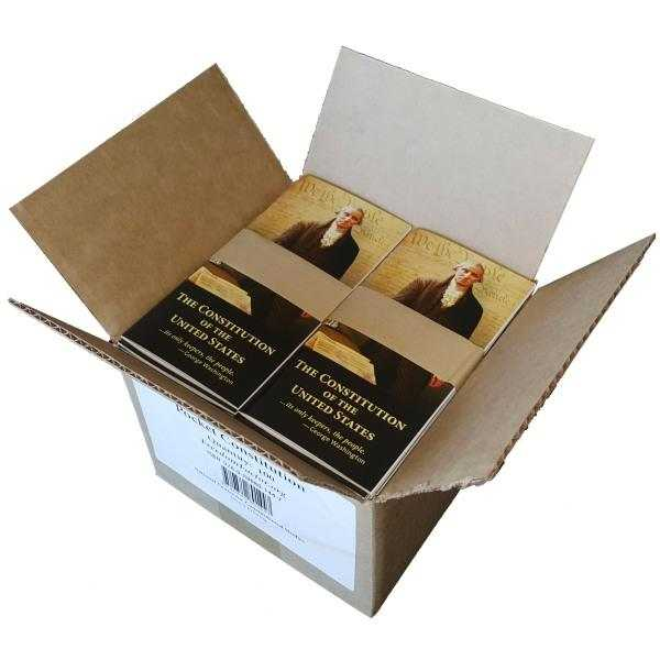 Pocket Constitutions Box of 100