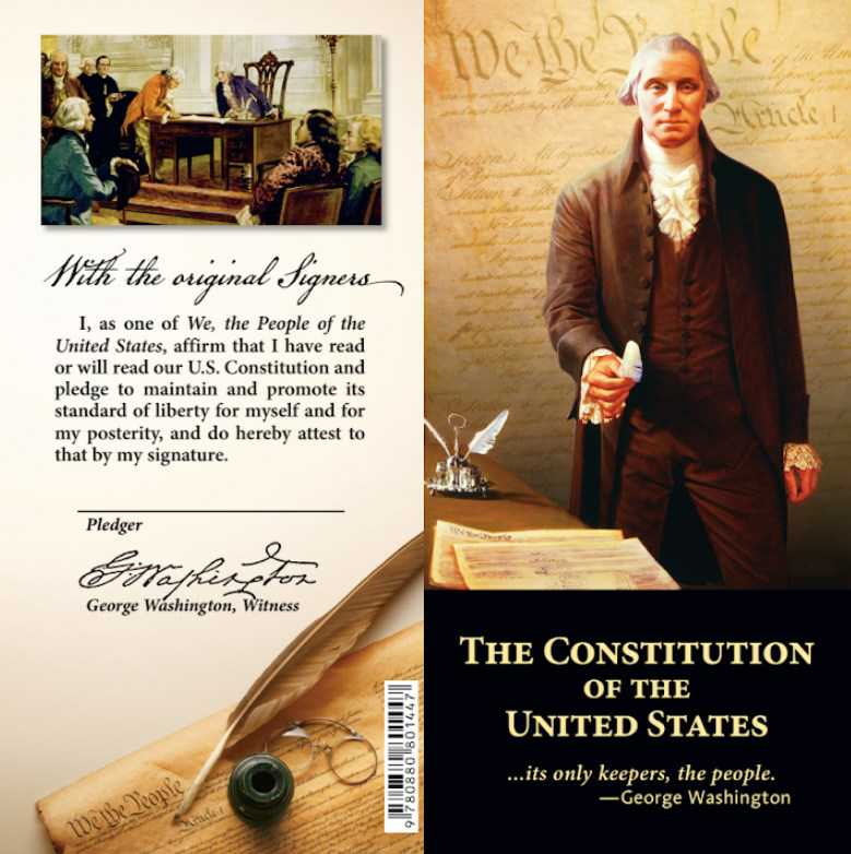 Pocket Constitution Cover