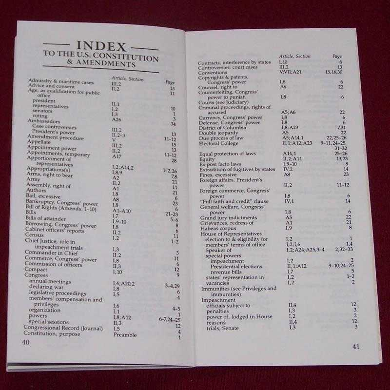 Pocket Constitution index