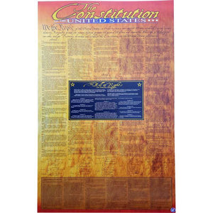 Front side of Constitution Poster.