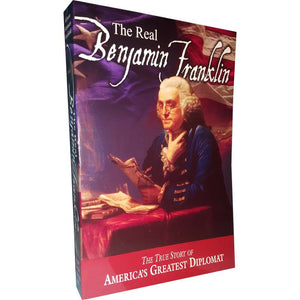 A biography of Benjamin Franklin.  The title of the book is the real benjamin franklin.