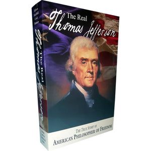 A biography of Thomas Jefferson.  The title of the book is the real Thomas Jefferson.
