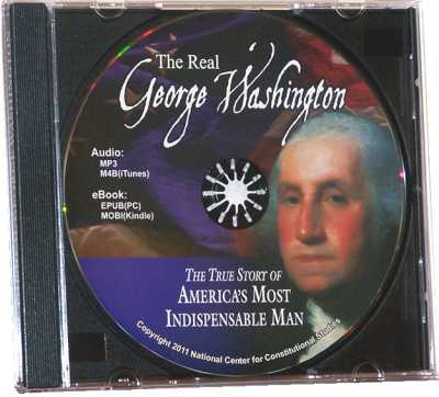 Real George Washington CD (Audio & eBook)