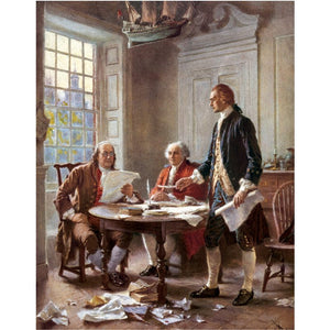 Writing the Declaration of Independence by J.L.G. Ferris