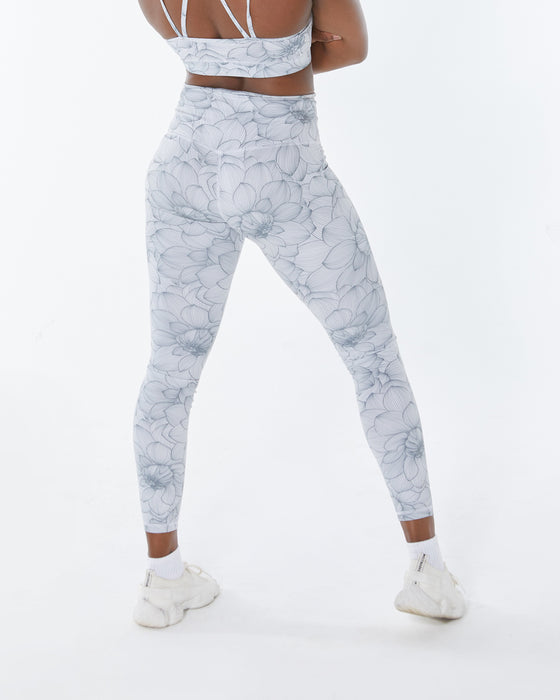 In Bloom Grey Leggings