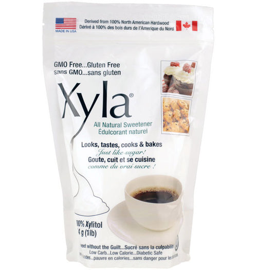 Old Xylitol packaging