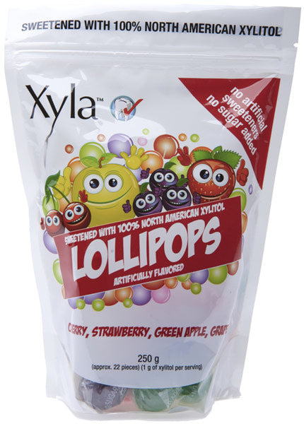 Xylitol - Assorted Lollipops