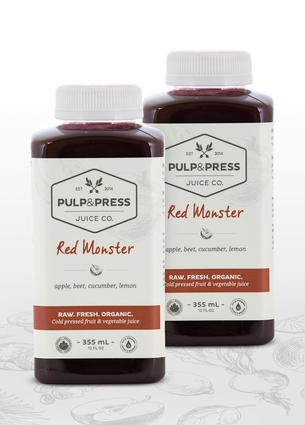 Red Monster Buddy Pack - Pulp & Press Juice Co.