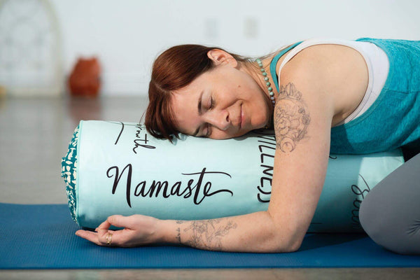 Personal Yoga Bolster Covers Take-it-with-you