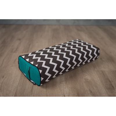 Get Ziggy With It <br><span style='font-size: 0.4em; color: #363636; vertical-align: top;'>Yoga Bolster Cover</span> - Bolster Bra