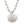Mariamor It Is Well Quarter, CZ Cross Necklace, Freshwater Pearl