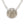 Mariamor Courage Quarter Statement Necklace, Sterling Silver