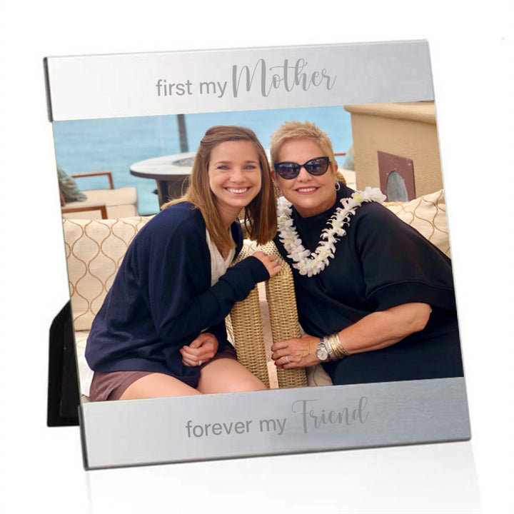 Mariamor First My Mother Forever My Friend Engraved Picture Frame