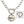 Mariamor Customizable Heart Charm Holder Statement Necklace, Sterling Silver