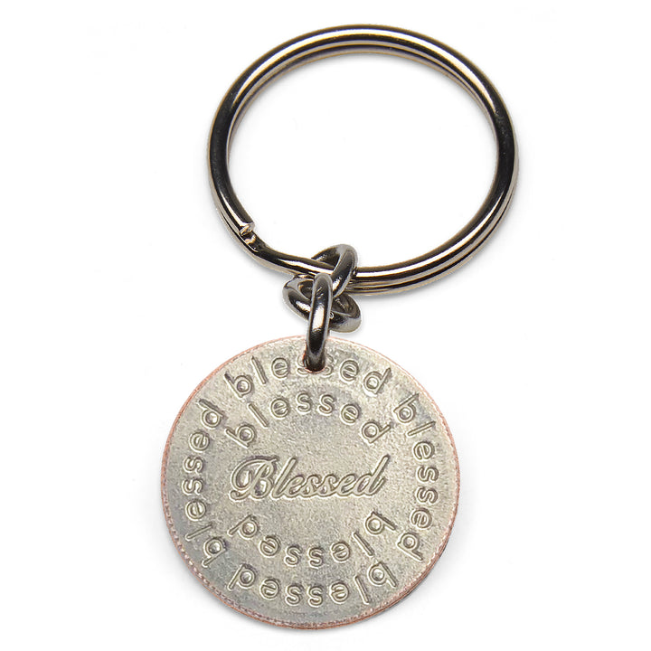 Mariamor Blessed Quarter Keychain