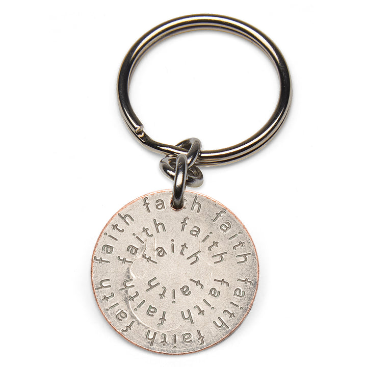 Mariamor Faith Quarter Keychain