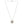 Mariamor Blessed, CZ Cross Necklace, Sterling Silver