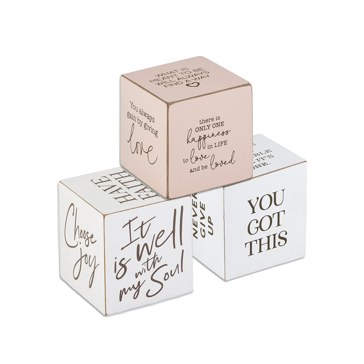 Well Said! Quote Cubes