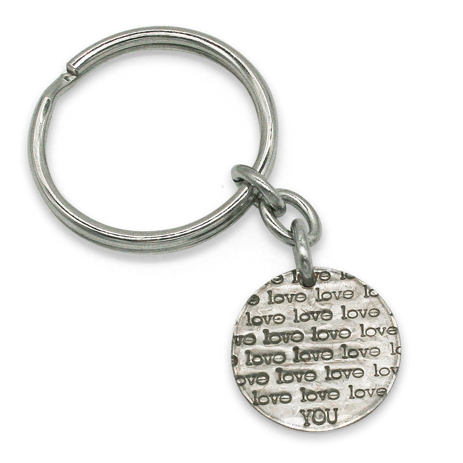Mariamor Love You Dime Keychain