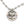 Mariamor Blessed, CZ Heart Necklace, Freshwater Pearl