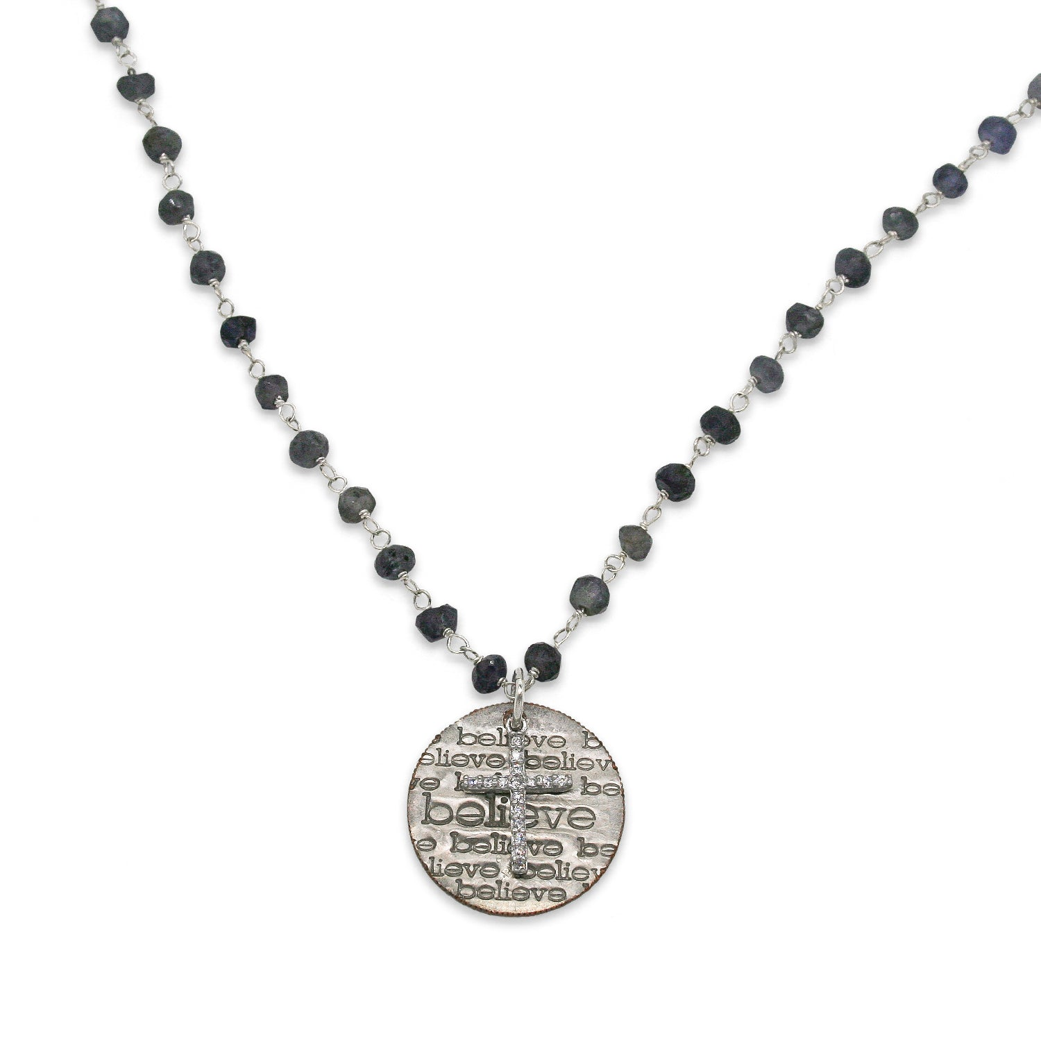 van river necklace product london disc iolite peterson stone