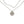 Hope Faith Love pearl double wrap necklace with CZ cross