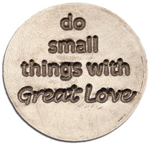 Small Things Great Love keychain