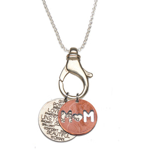 Unstoppable MOM Charm Holder