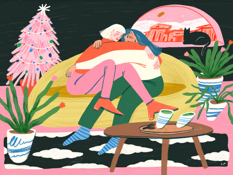 JIGGY A Cozy Christmas art
