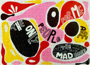The Mad Ones art puzzle by Marika Wagle.