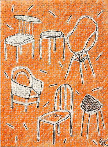 Chairs, Gabby Klein