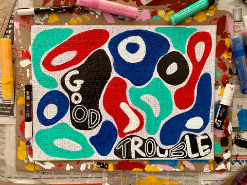 Good Trouble/Go Rule, Marika Wagle