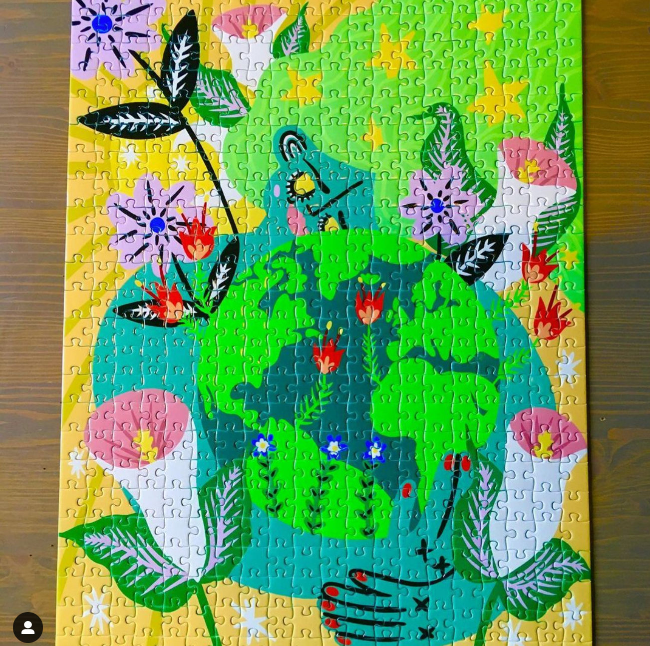From Instagram: Earth Mother puzzle by @amy.e.dorner