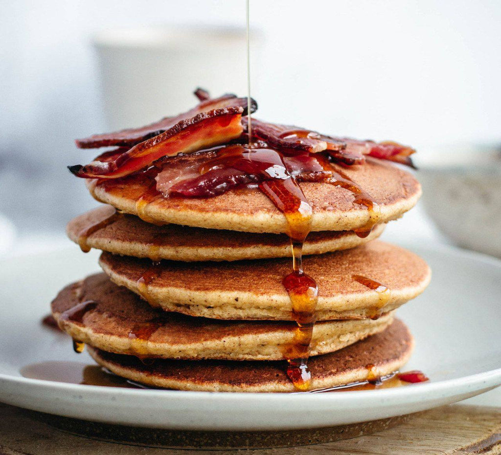 Sweet and Savory Chai-Spiced Pancakes