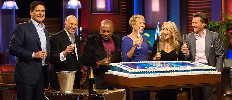 The sisters were the first contestants in Shark Tank history to receive investment offers from all five panel members.