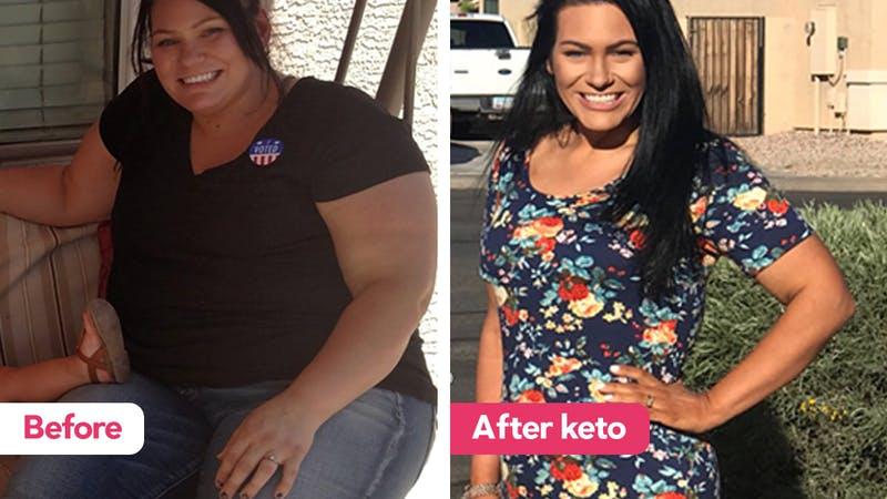 keto diet weight loss before and after