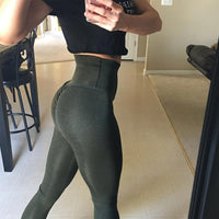 2 Pairs High Waist Yoga Pants | Push Up Butt Lift Pants-yoga pants-Vinny's Digital Emporium