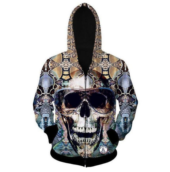 3D Hoodie Sweatshirt Jacket For Men & Women-Hoodies & Sweatshirts-Vinny's Digital Emporium