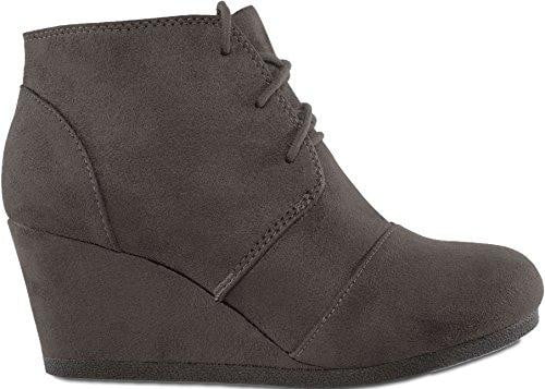 Wedge Booties Shoes For Women-wedge heels booties-Vinny's Digital Emporium